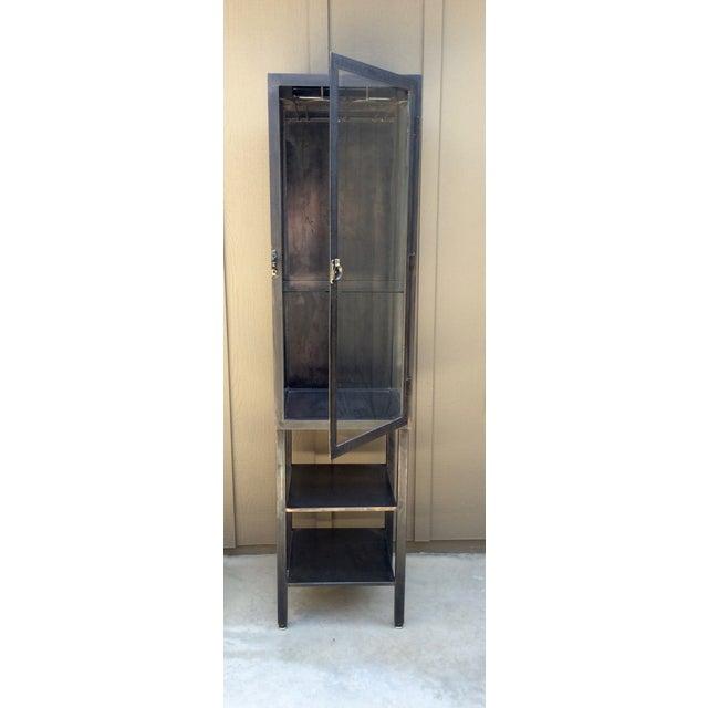 Industrial Vintage Industrial Metal Cabinet For Sale - Image 3 of 10