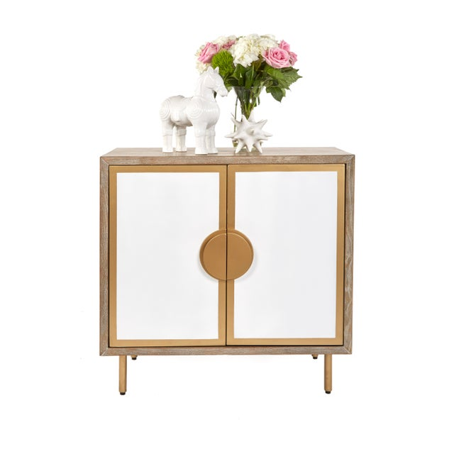 Modern Positano Accent Cabinet For Sale - Image 4 of 6