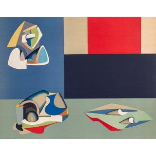 "Jean Helion, ""Composition"", Modern Art Lithograph"