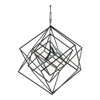 "Contemporary ""Cache"" Chandelier For Sale"