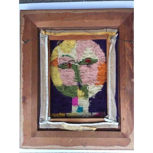 Vintage Paul Klee Style Modernist Needlepoint For Sale In Philadelphia - Image 6 of 6