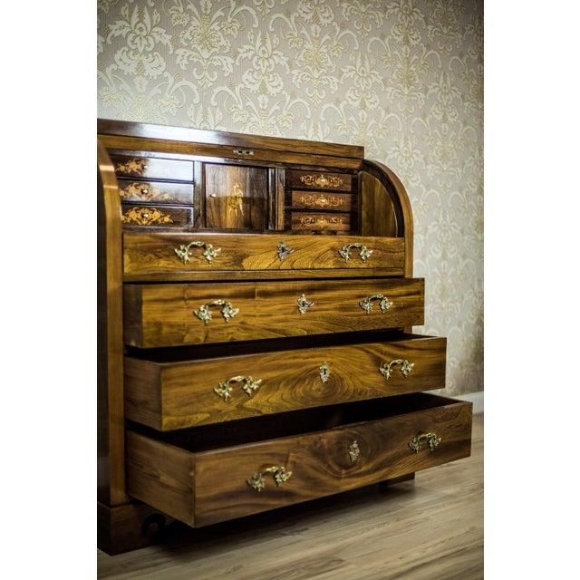 Elm Secretary Desk, circa the 19th Century For Sale - Image 12 of 13