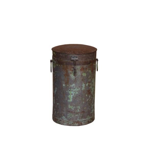 2010s Antique Iron Maarten Pot For Sale - Image 5 of 5