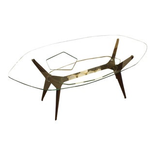 Coffee Table in the Style of Ico Parisi, Italy, 1960s For Sale
