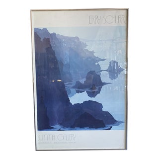 Vintage Jerry Schurr Olympia National Park Lithograph For Sale