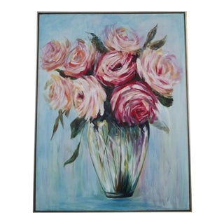 Rose Bouquet Painting For Sale