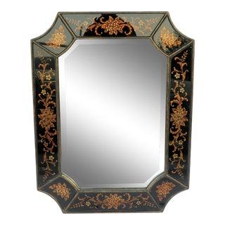 Vintage Venetian Octagonal Mirror For Sale
