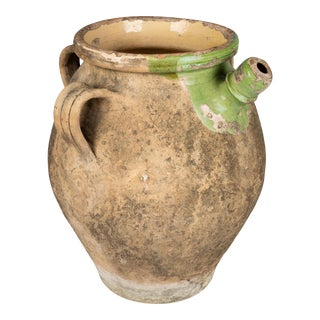 19th Century French Terracotta Pot or Planter For Sale