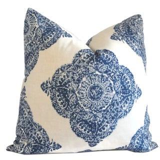 Moroccan Megouna Hand Blocked Pillows - A Pair