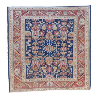 "Turkish Oushak Rug - 7'8"" x 7'8"" For Sale"