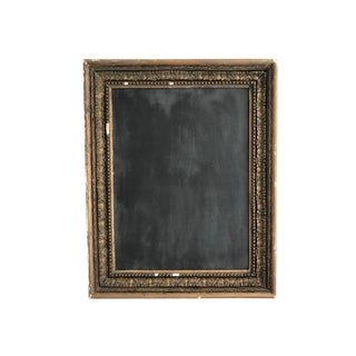 Vintage Framed Chalk Board For Sale