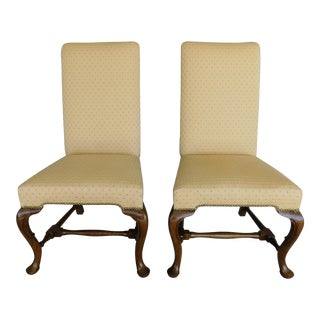 Baker Queen Anne AcCentury Side Chairs - a Pair For Sale