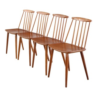 Set of 2 Chairs designed by Folke Palsson for FDB Mobler Denmark For Sale