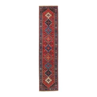 Pasargad Red Persian Yalameh Runner- 2′8″ × 12′ For Sale
