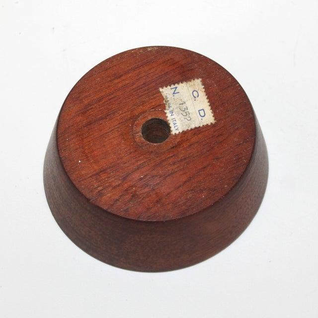 Mid-Century Modern Raymor Italian Pottery Lamp - Image 5 of 9