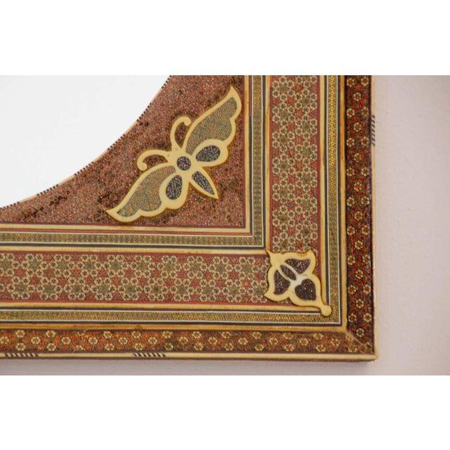 Middle Eastern Moorish-Style Sadeli Mosaic Mirror For Sale - Image 11 of 13