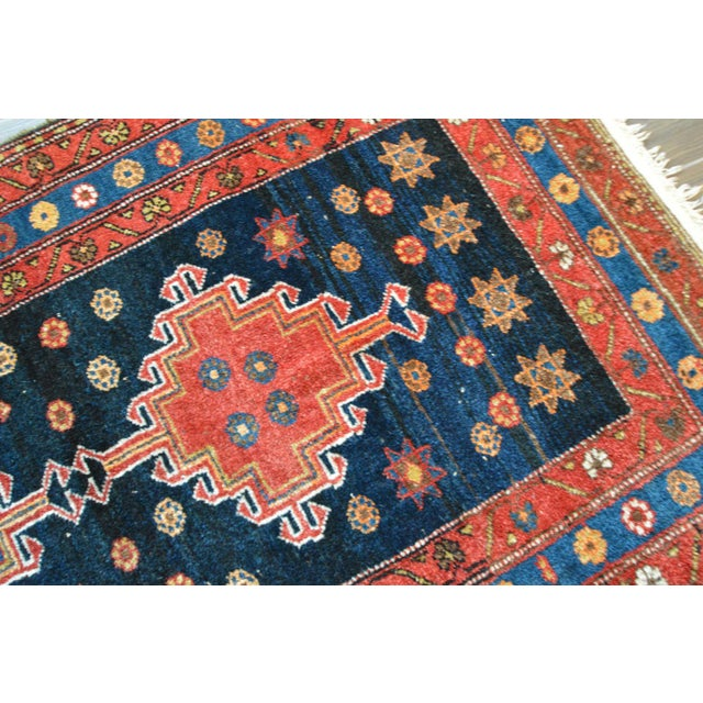 "Persian Tribal Rugs: Vintage Persian Tribal Rug - 3'6"" X 7'"