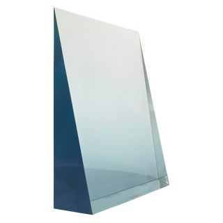 "Peter Alexander, Blue Wedge, 1969, Polyester Resin, 21.25 X 20.5 X 4.75"", For Sale"