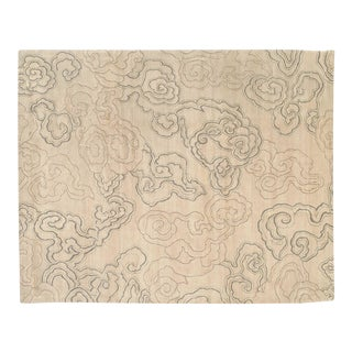 Cloud Nine Silver Pearl, 12 x 16 Rug For Sale