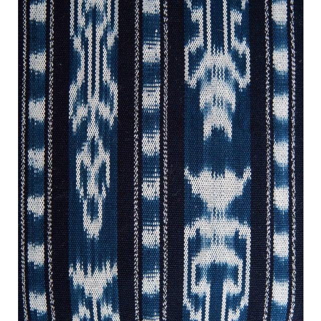 Guatemalan Indigo Ikat Pillow - Image 3 of 3