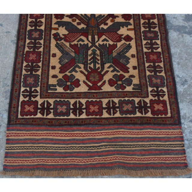 "Vintage Turkish Kilim Rug Runner - 2'7"" x 11'10"" For Sale - Image 5 of 7"