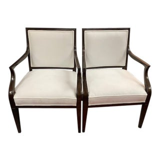 Modern Talbert Armchairs- A Pair For Sale