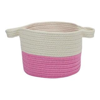 """Beach Bum Basket Pink 15""""x15""""x12"""" Storage Basket"""