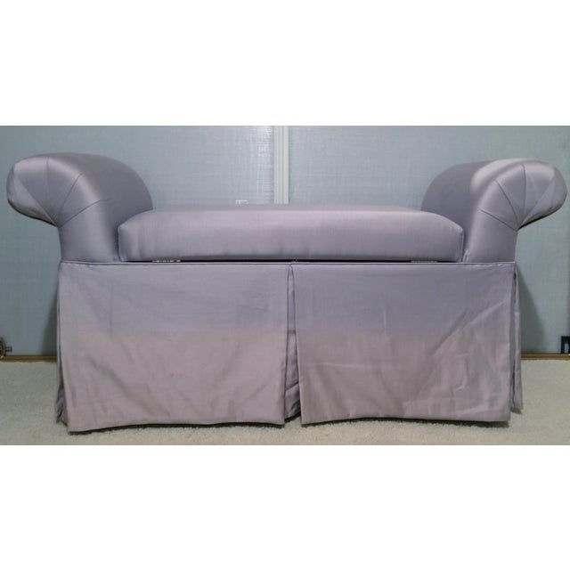 Lavender Chaise Lounge Chair/Bench For Sale - Image 4 of 8