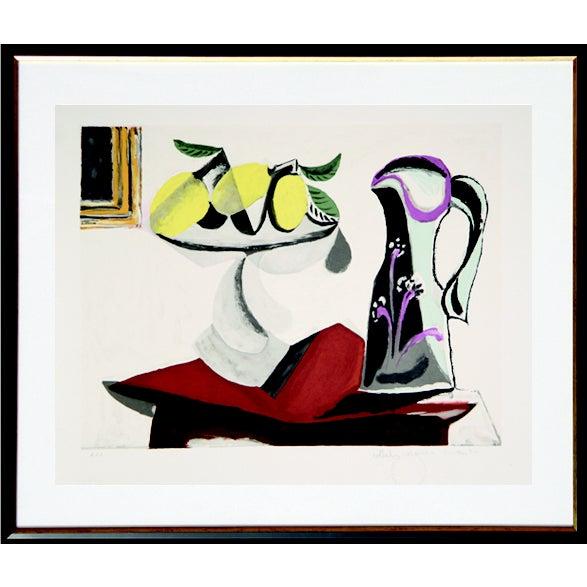 Pablo Picasso Lithograph - Nature Morte Au Citron - Image 1 of 2