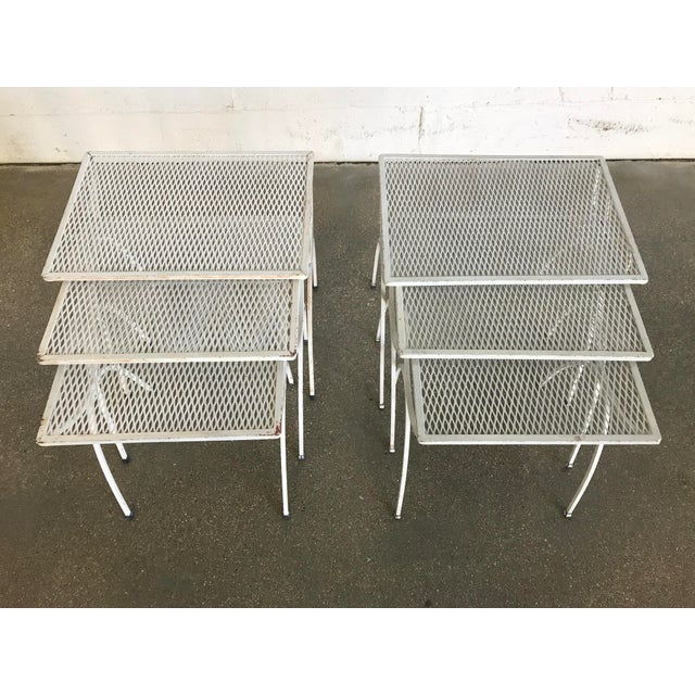 Mid-Century Modern Salterini Iron Nesting Tables - Set of 3 - Image 9 of 9