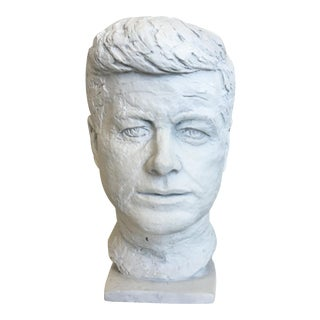 Plaster Jfk Bust For Sale