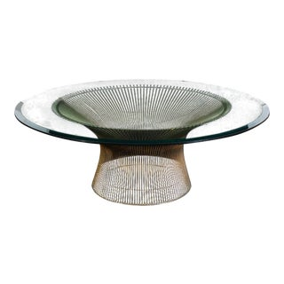 1960s Vintage Warren Platner Coffee Table For Sale