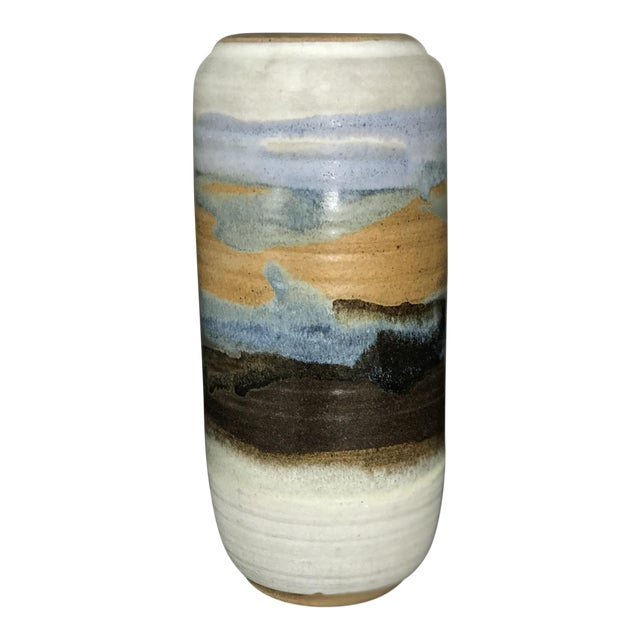 Vintage Ceramic Hazelton Jones Vase For Sale