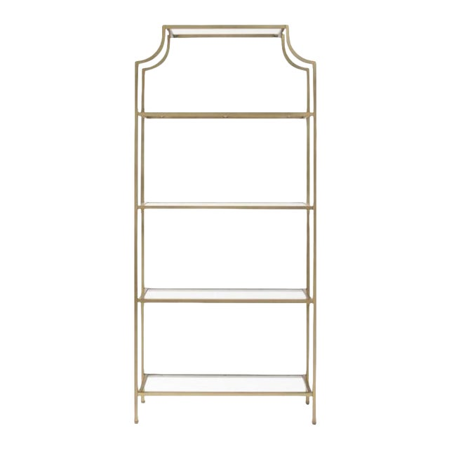 (Mem Day Early) Hollywood Regency Pagoda Etagere **Shipping $99** For Sale