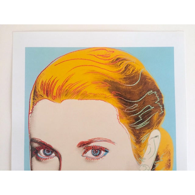 "This Andy Warhol Estate rare vintage 1989 collector's Pop Art offset lithograph print "" Grace Kelly "" 1984, is an..."