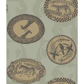 Cole & Son Matrinah Wallpaper Roll - Old Olive For Sale