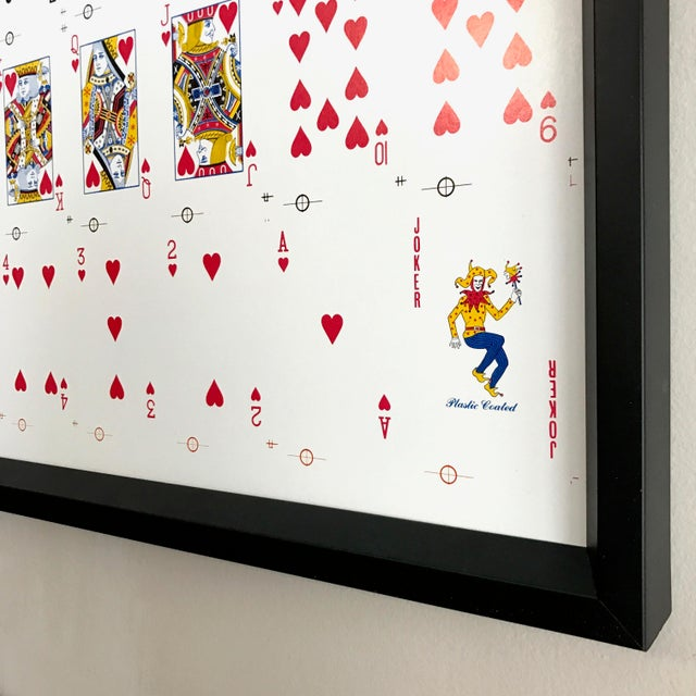Framed Uncut Set of Playing Cards - Image 4 of 4