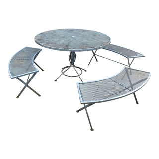 Vintage Russell Woodard Patio Set - 4 Pieces For Sale