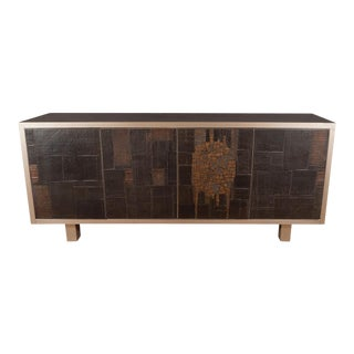 Ceramic and Metal Sideboard by Pia Manu For Sale