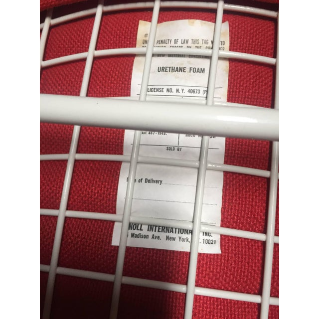 Harry Bertoia for Knoll International Early Production Wire Chairs - Set of 6 For Sale In Los Angeles - Image 6 of 8