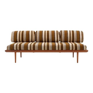 Three-Piece Peter Hvidt & Orla Mølgaard-Nielsen Sofa/Daybed and Pair of Settees For Sale