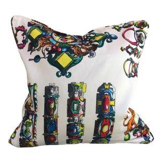 Christian Lacroix La Main Au Collet Pillow For Sale