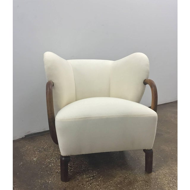 Mid-Century Modern Chair, in the Style of Viggo Boesen For Sale - Image 3 of 5