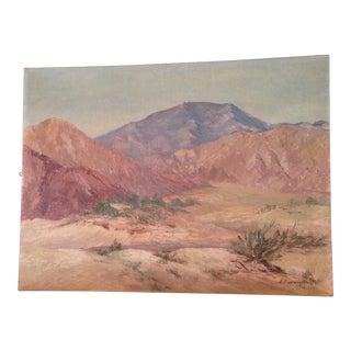 Vintage Plain Air Oil Painting For Sale