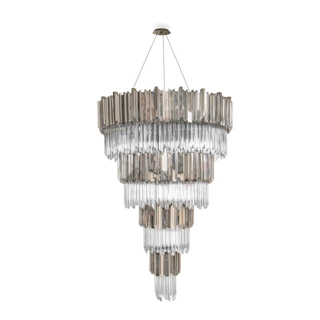 Luxxu Empire Chandelier For Sale - Image 4 of 6