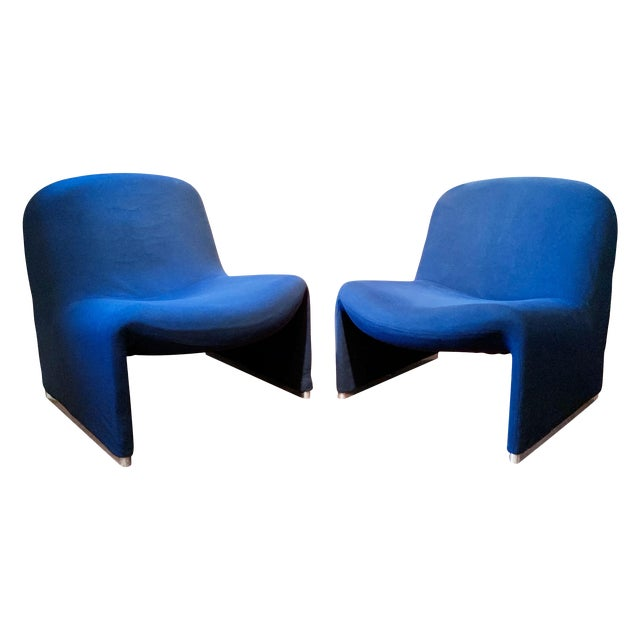 1970s Vintage Giancarlo Piretti Alky Chairs- A Pair For Sale