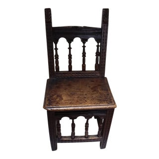 Colonial Style Side Chair For Sale