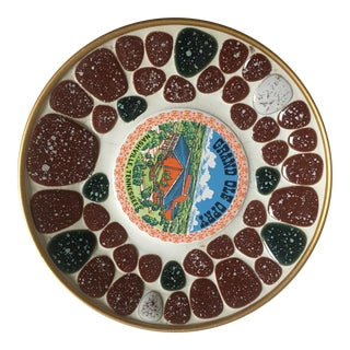 Mid-Century Grand Ole Opry Mosaic Dish