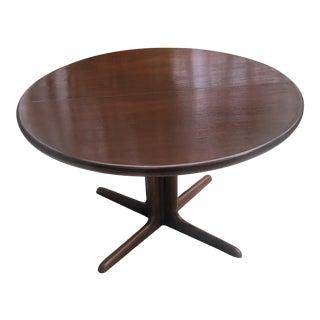 1960s Danish Modern Niels Møller for Gudme Teak Extendable Dining Table For Sale