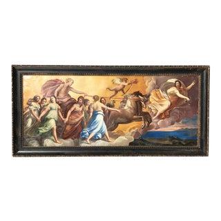 19th Century Italian Allegorical Oil on Canvas